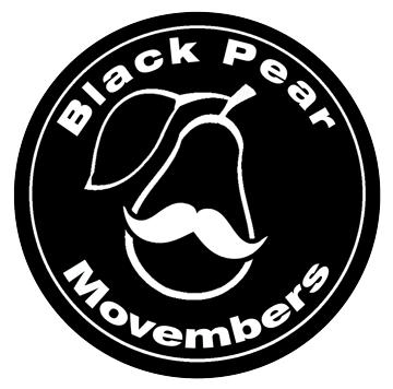 Black Pears supporting men's health this 'Movember'