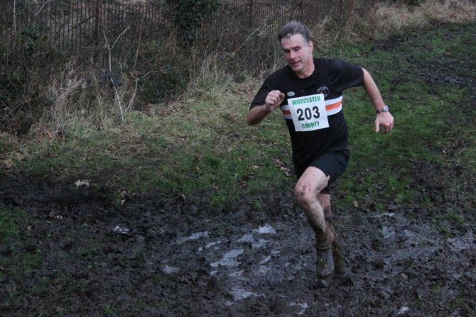 The Black Pear Joggers at Cross Country County Championships 2013
