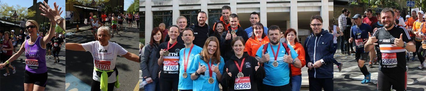 Great achievements at London Marathon 2014