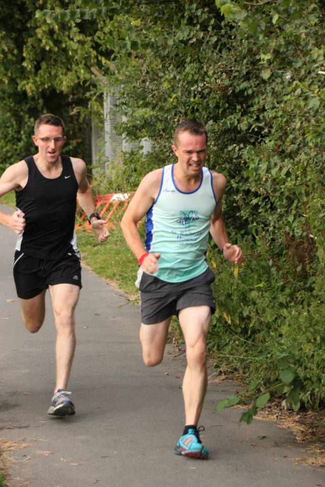 Ian and Chris Running the Magic Mile (2014)