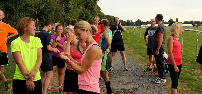 38 runners complete their Magic Mile at Pitchcroft