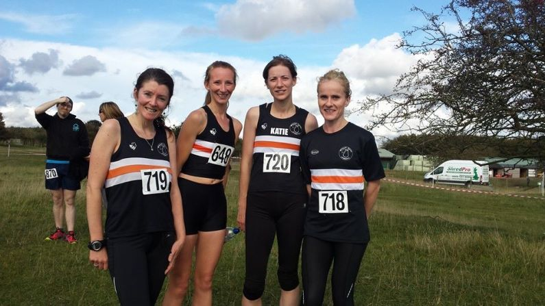 Cross Country Female Team (Glos, Oct 14)