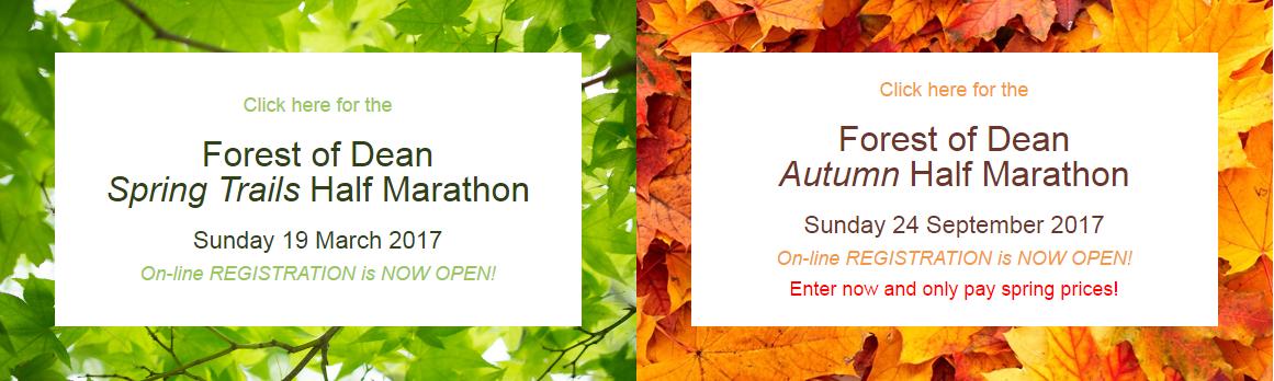 Race Report – Forest of Dean Autumn Half Marathon – 25th Sept 2016