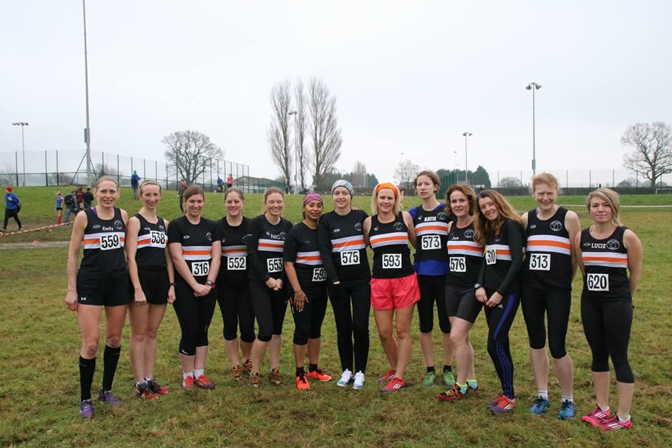 Cross country team Cheltenham 2013
