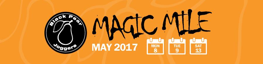 BPJ Magic Mile set for May