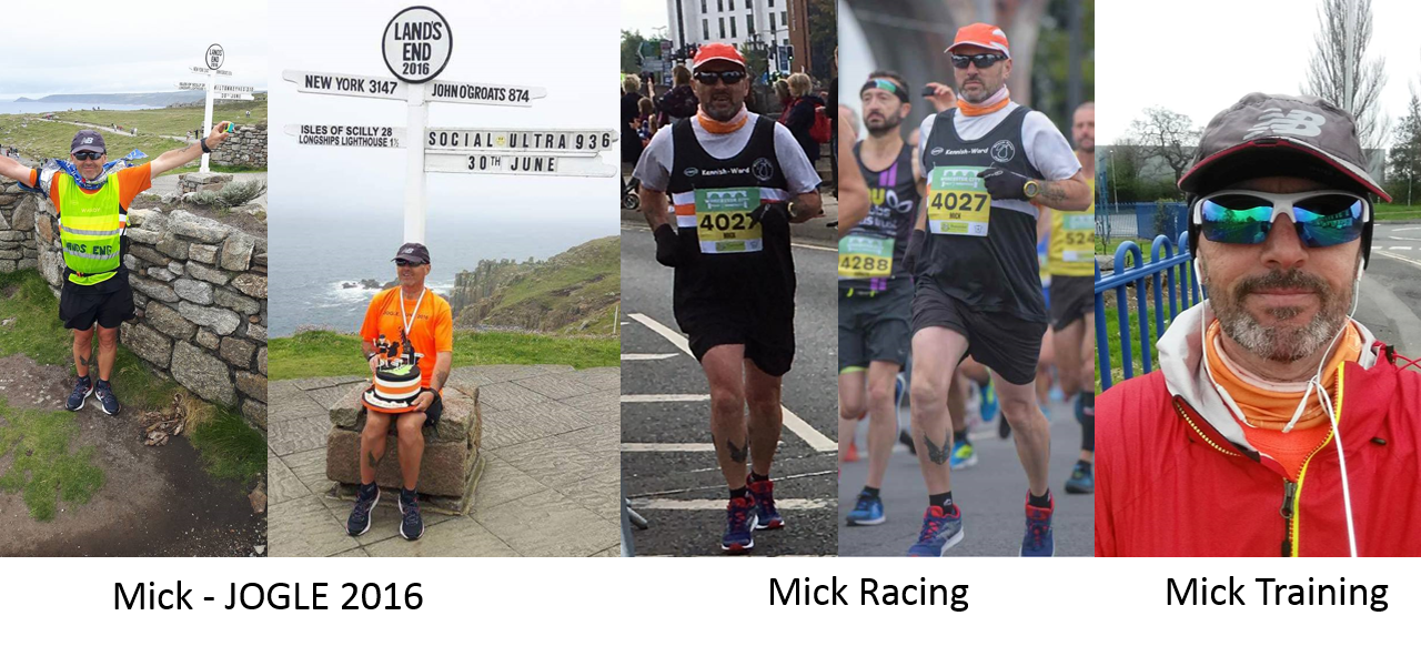 Worcester Black Pear Jogger attempts to beat JOGLE best known time